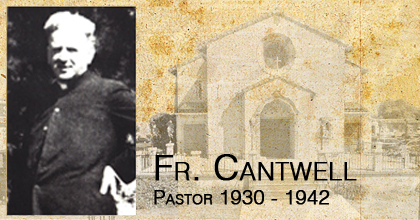 Fr. Cantwell